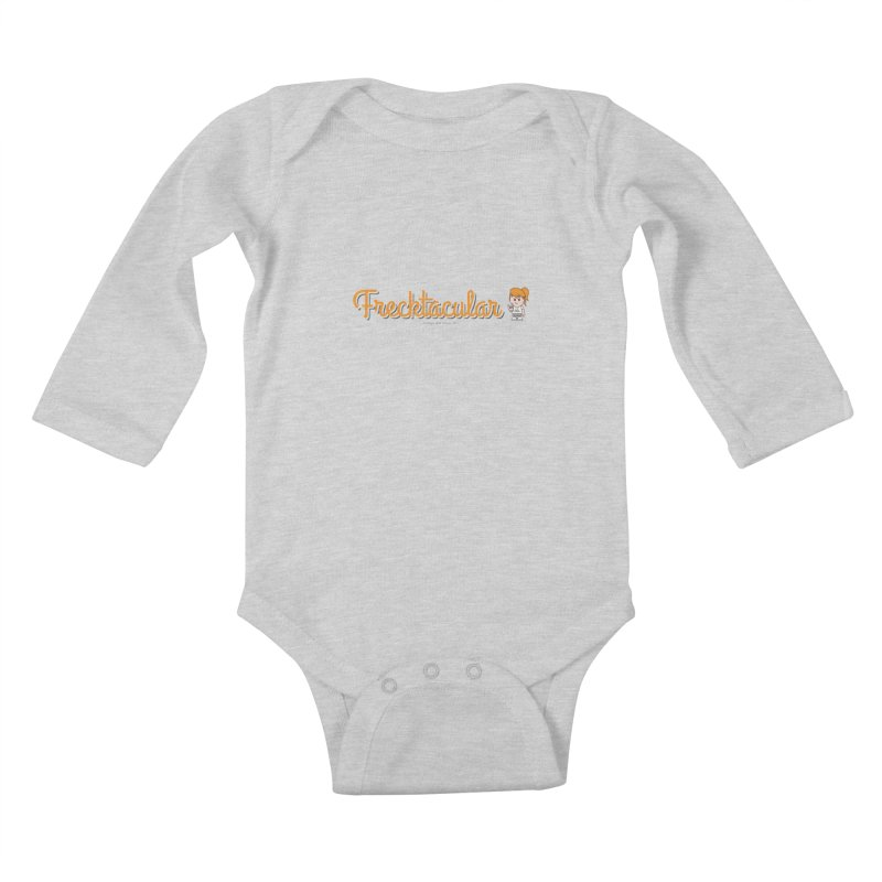 Frecktacular Girl Kids Baby Longsleeve Bodysuit by Ginger With Attitude's Artist Shop