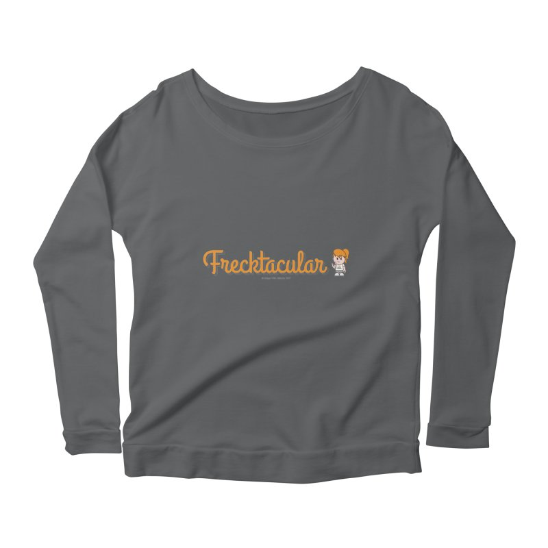 Frecktacular Girl Women's Longsleeve T-Shirt by Ginger With Attitude's Artist Shop