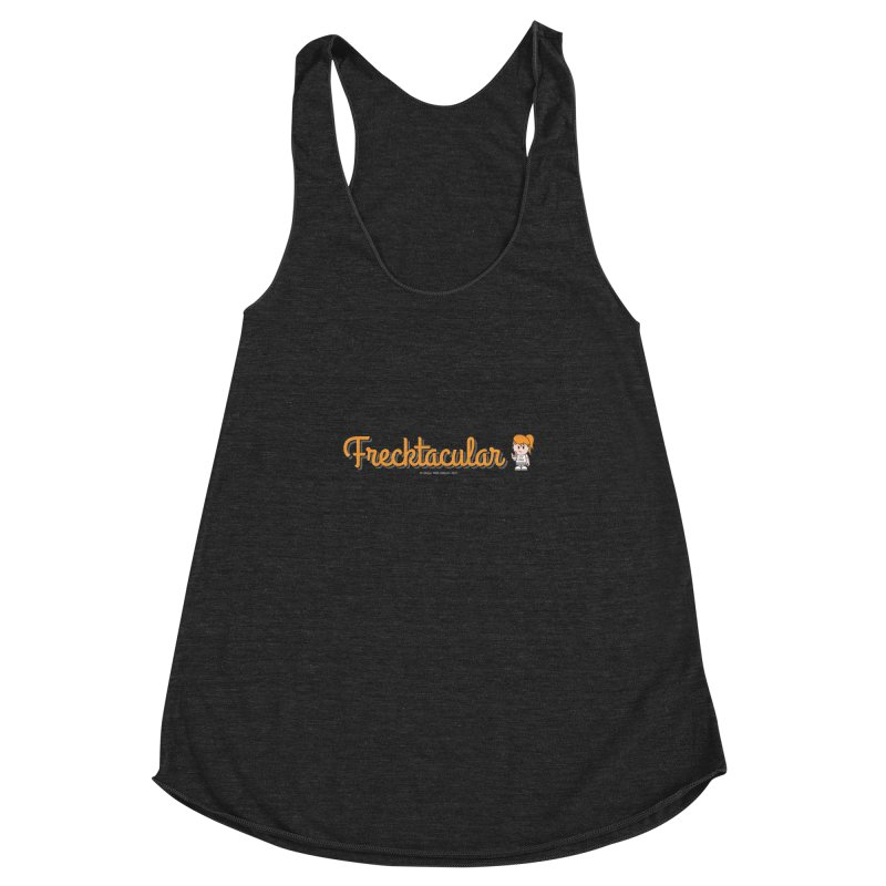 Frecktacular Girl Women's Racerback Triblend Tank by Ginger With Attitude's Artist Shop