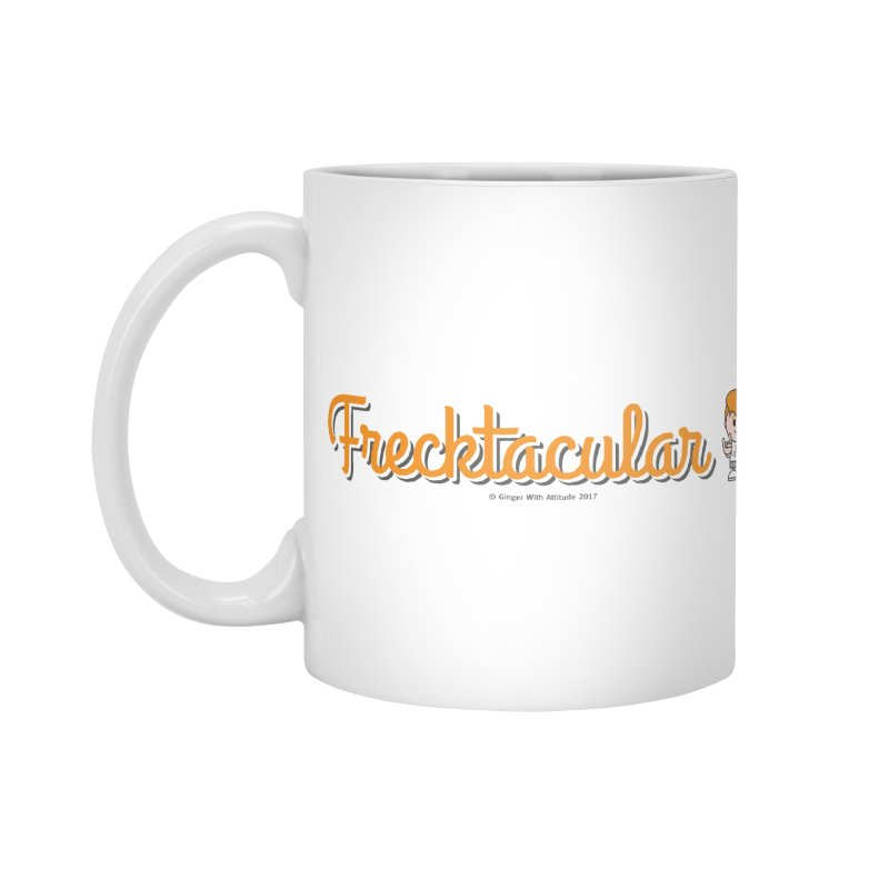 Frecktacular Girl Accessories Mug by Ginger With Attitude's Artist Shop