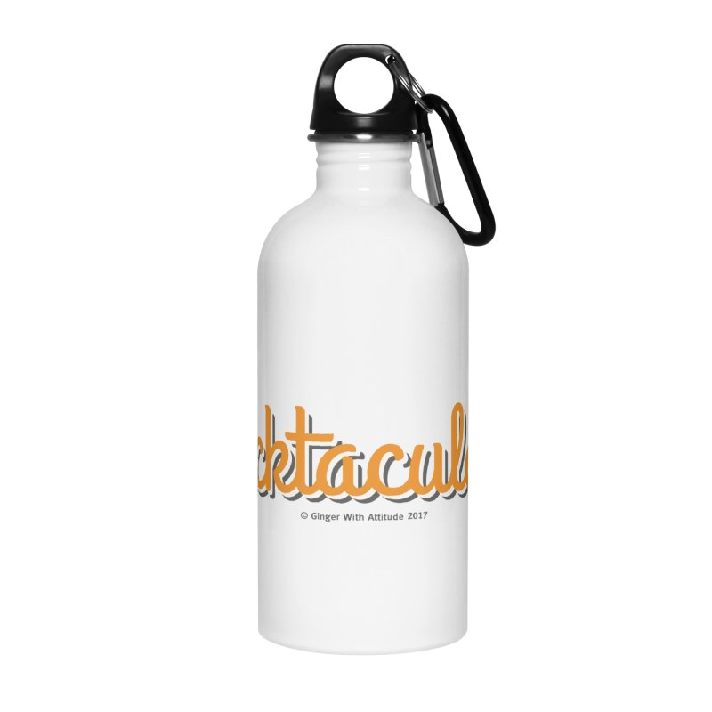 Frecktacular Girl Accessories Water Bottle by Ginger With Attitude's Artist Shop