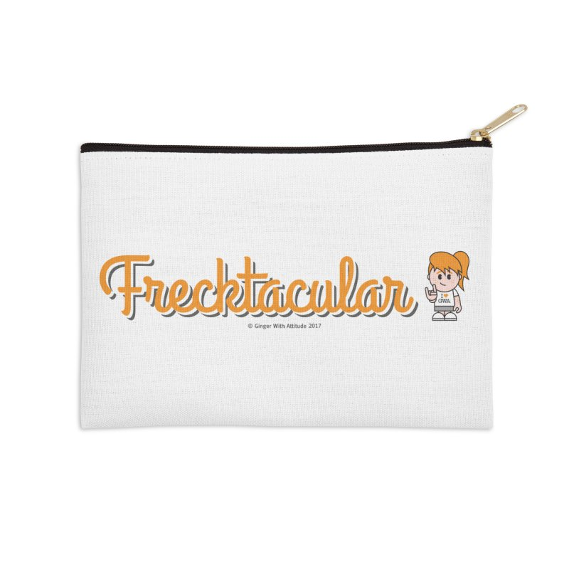 Frecktacular Girl Accessories Zip Pouch by Ginger With Attitude's Artist Shop