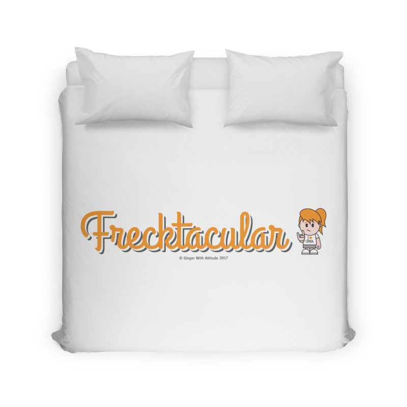Frecktacular Girl Home Duvet by Ginger With Attitude's Artist Shop