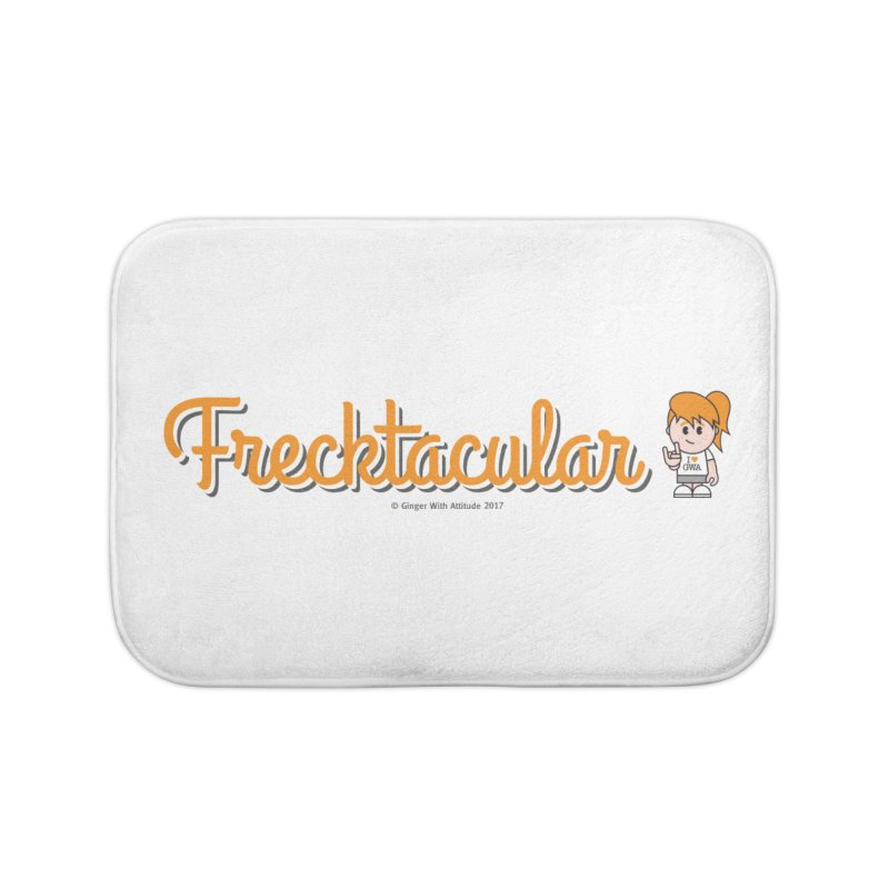 Frecktacular Girl Home Bath Mat by Ginger With Attitude's Artist Shop