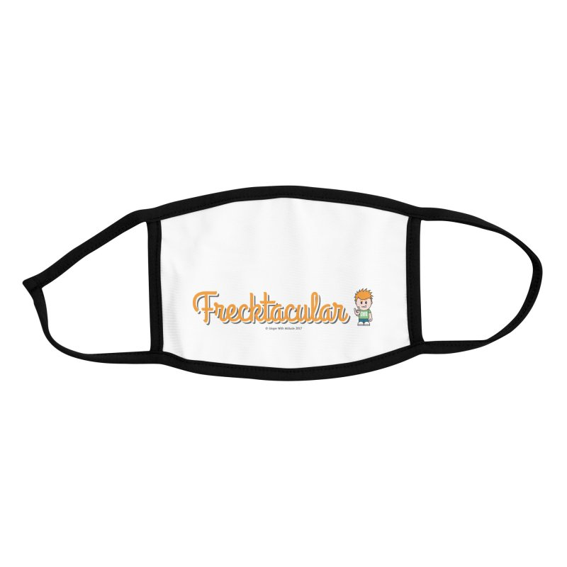 Frecktacular Guy Accessories Face Mask by Ginger With Attitude's Artist Shop