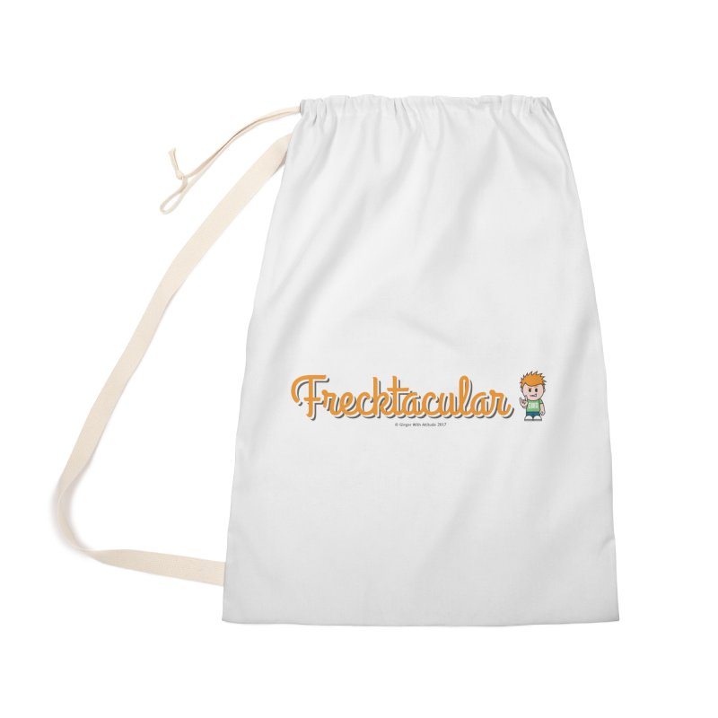 Frecktacular Guy Accessories Bag by Ginger With Attitude's Artist Shop
