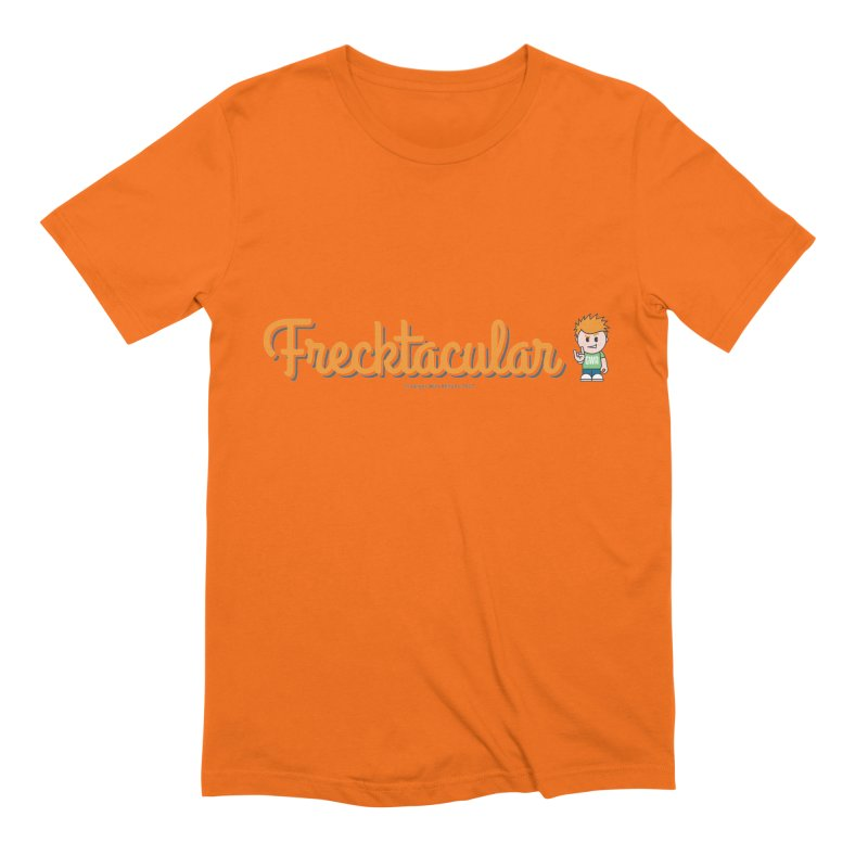 Frecktacular Guy Men's Extra Soft T-Shirt by Ginger With Attitude's Artist Shop