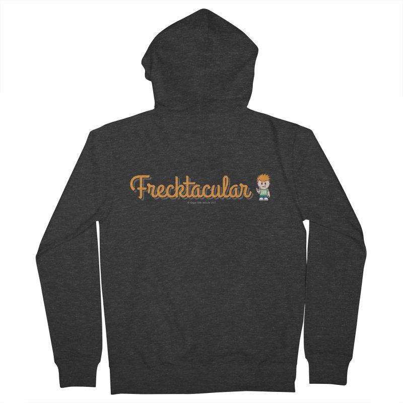 Frecktacular Guy Men's French Terry Zip-Up Hoody by Ginger With Attitude's Artist Shop