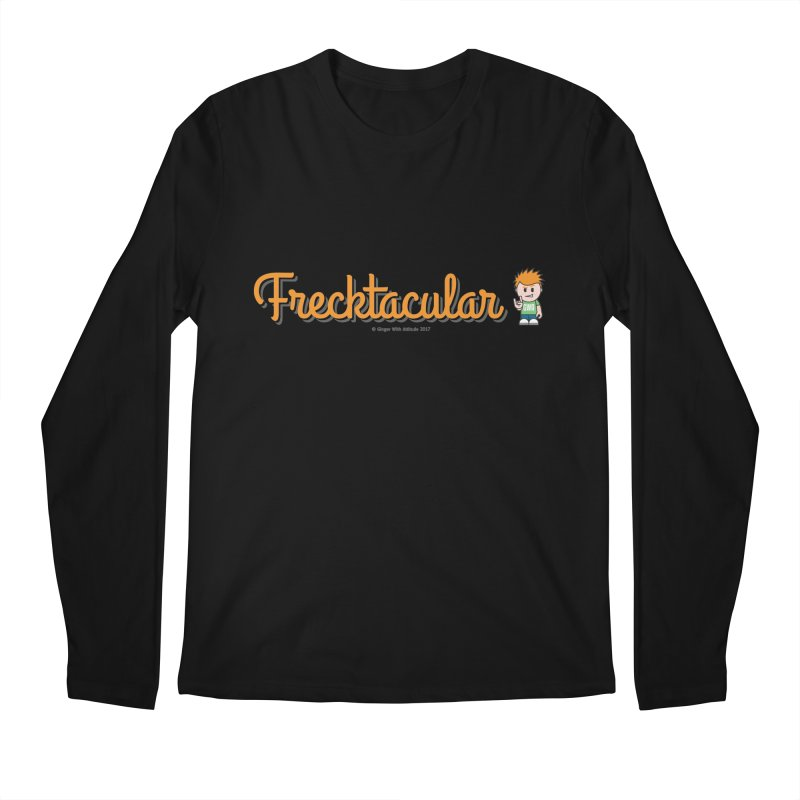 Frecktacular Guy Men's Regular Longsleeve T-Shirt by Ginger With Attitude's Artist Shop