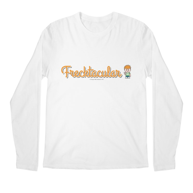 Frecktacular Guy Men's Longsleeve T-Shirt by Ginger With Attitude's Artist Shop