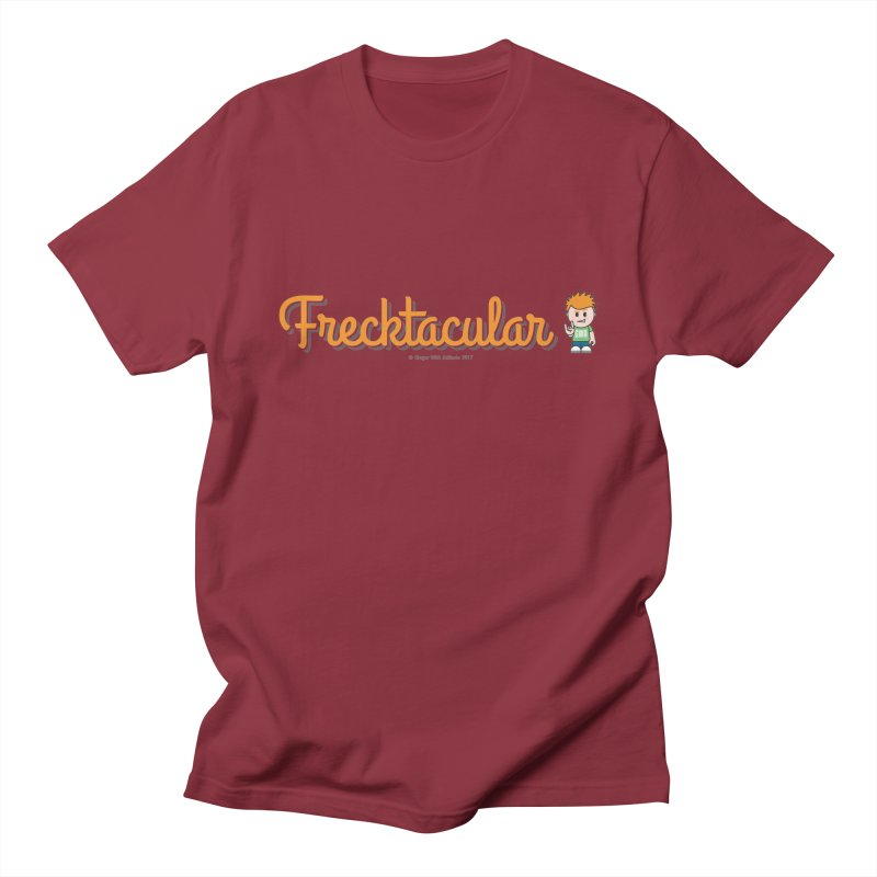 Frecktacular Guy Men's Regular T-Shirt by Ginger With Attitude's Artist Shop