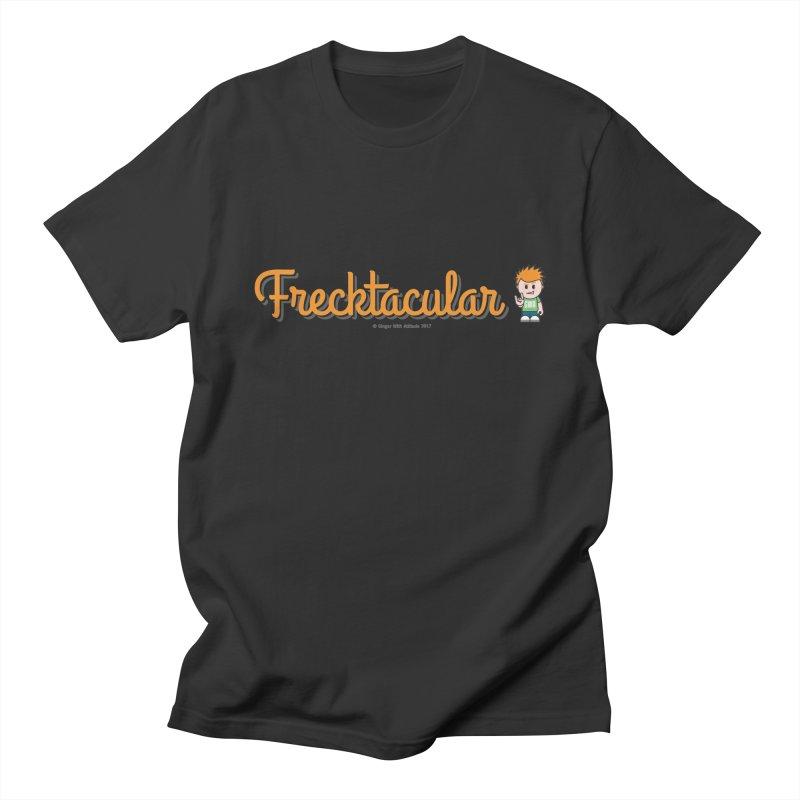 Frecktacular Guy Men's Regular T-Shirt by Ginger With Attitude's Artist Shop