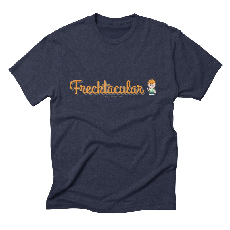 Frecktacular Guy Men's Triblend T-Shirt by Ginger With Attitude's Artist Shop
