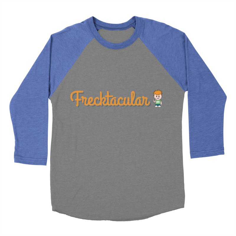 Frecktacular Guy Men's Baseball Triblend Longsleeve T-Shirt by Ginger With Attitude's Artist Shop