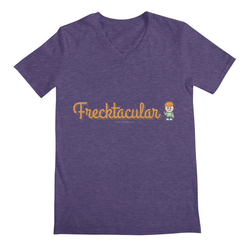 Frecktacular Guy Men's V-Neck by Ginger With Attitude's Artist Shop