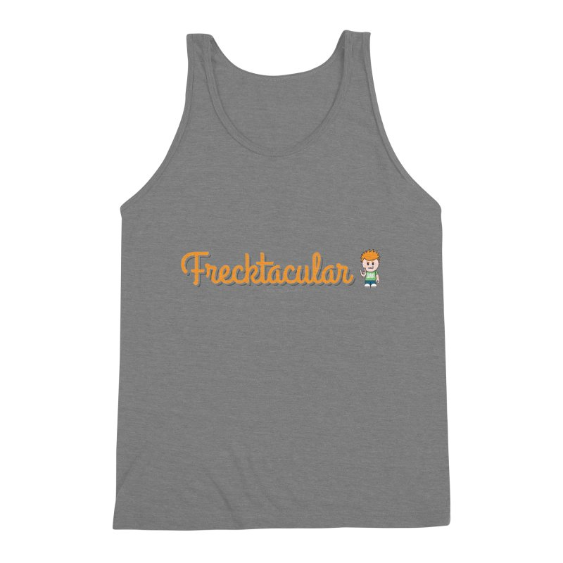 Frecktacular Guy Men's Triblend Tank by Ginger With Attitude's Artist Shop