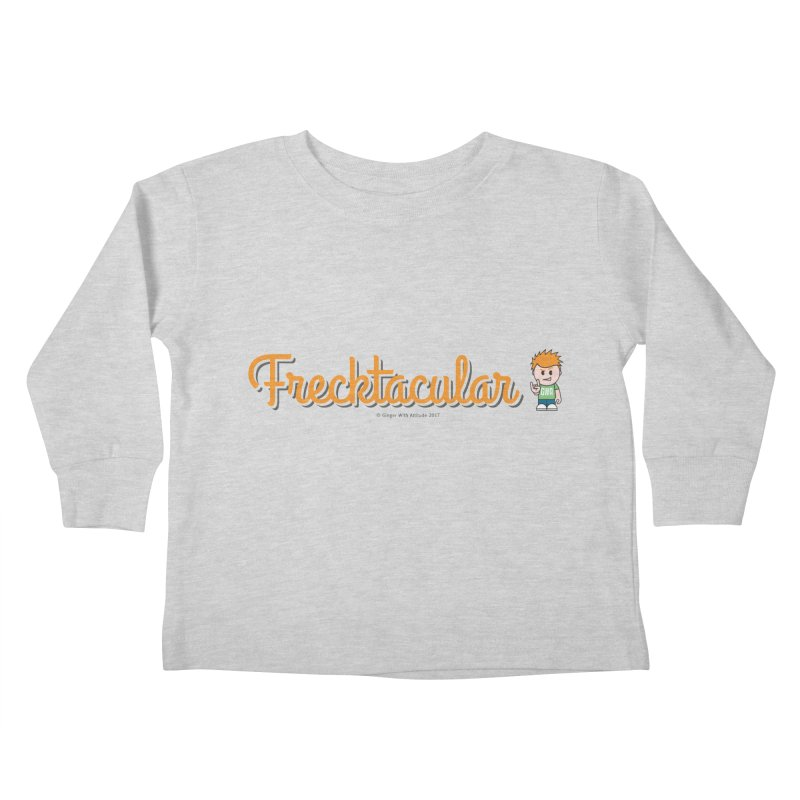 Frecktacular Guy Kids Toddler Longsleeve T-Shirt by Ginger With Attitude's Artist Shop