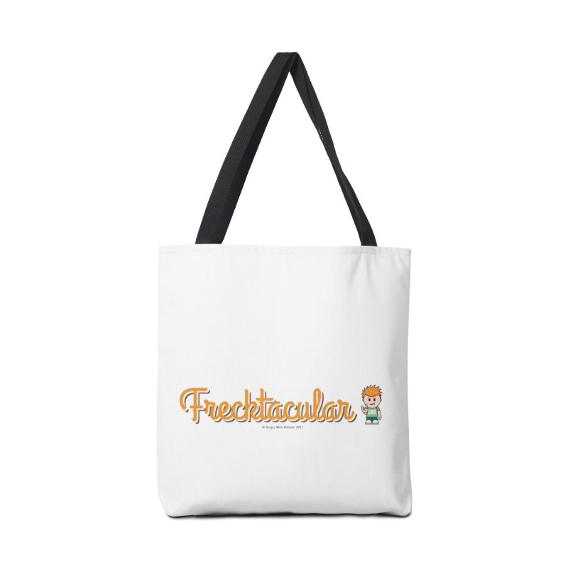 Frecktacular Guy Accessories Tote Bag Bag by Ginger With Attitude's Artist Shop
