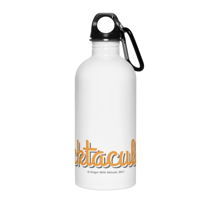 Frecktacular Guy Accessories Water Bottle by Ginger With Attitude's Artist Shop