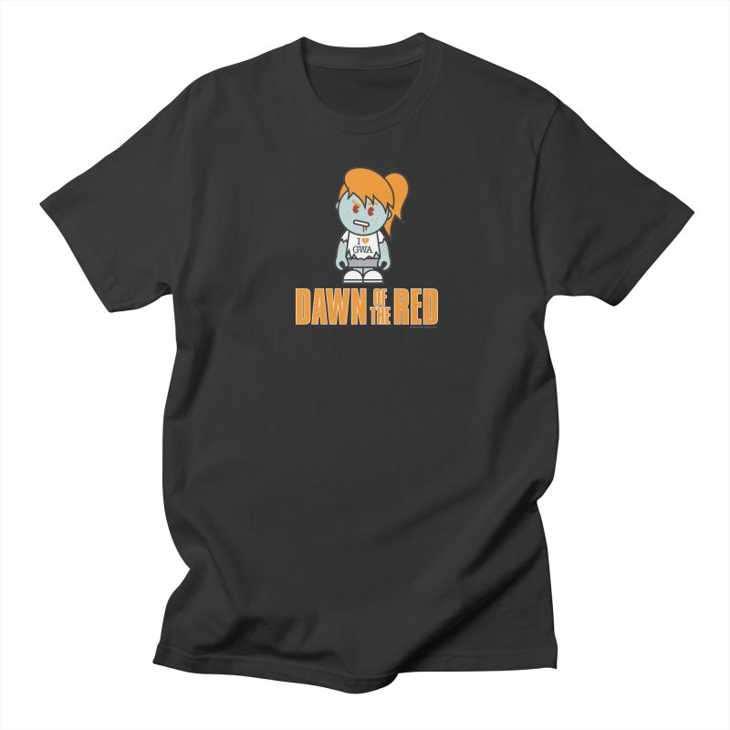 Dawn of The Red Men's T-Shirt by Ginger With Attitude's Artist Shop
