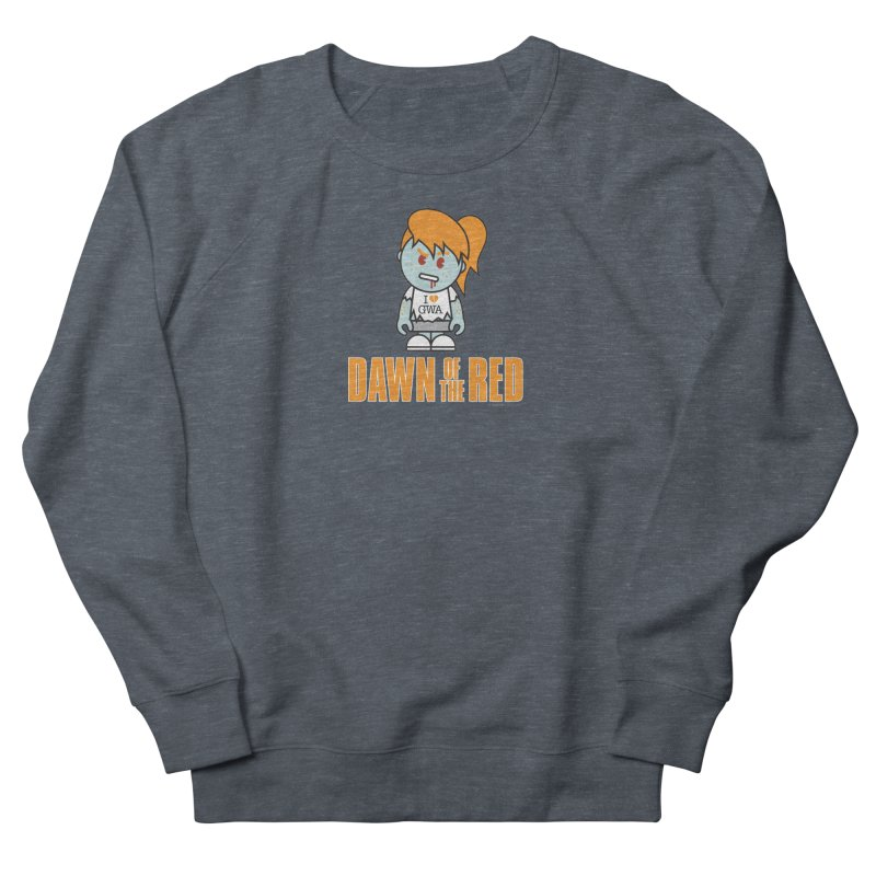 Dawn of The Red Women's French Terry Sweatshirt by Ginger With Attitude's Artist Shop