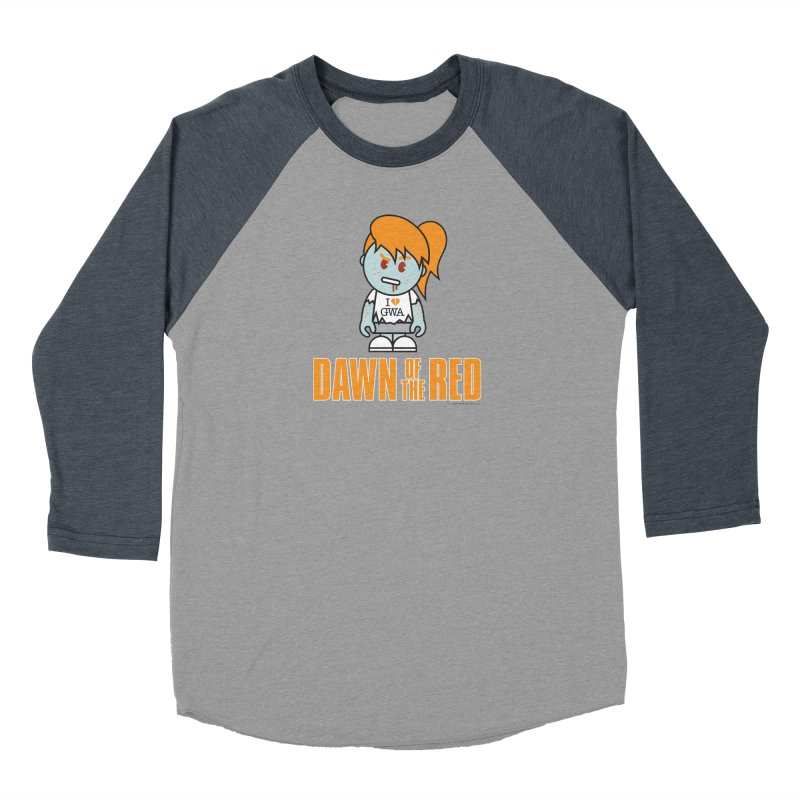 Dawn of The Red Men's Baseball Triblend Longsleeve T-Shirt by Ginger With Attitude's Artist Shop