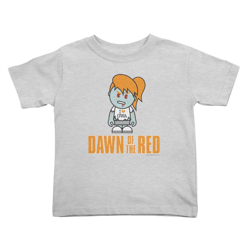Dawn of The Red Kids Toddler T-Shirt by Ginger With Attitude's Artist Shop