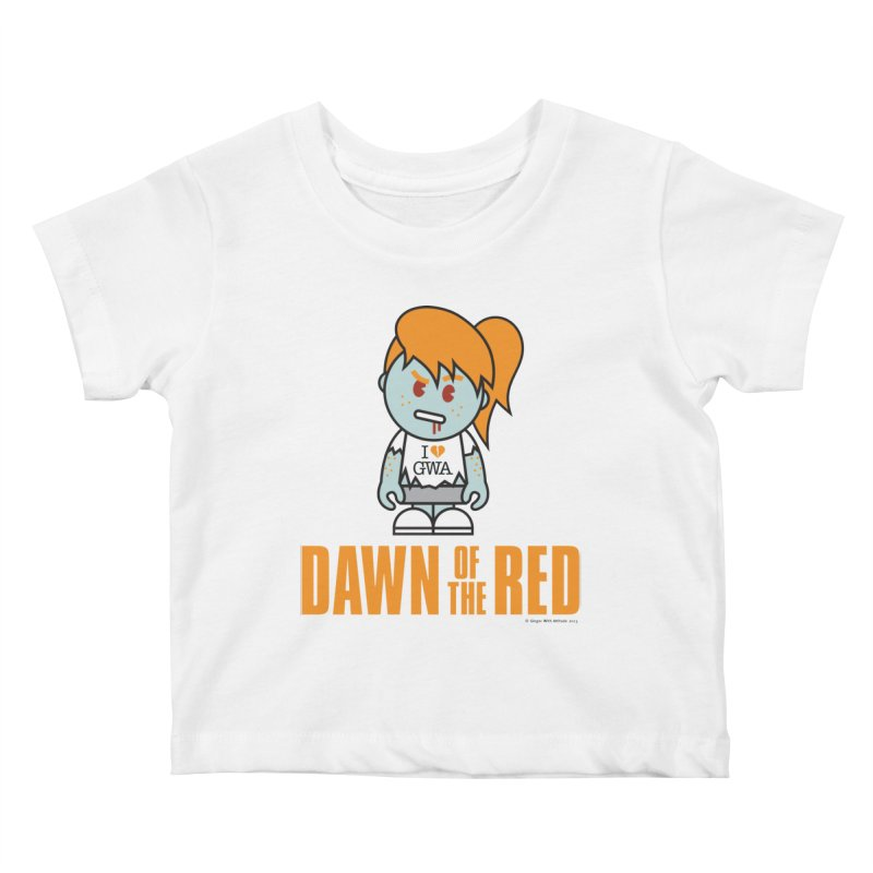 Dawn of The Red Kids Baby T-Shirt by Ginger With Attitude's Artist Shop