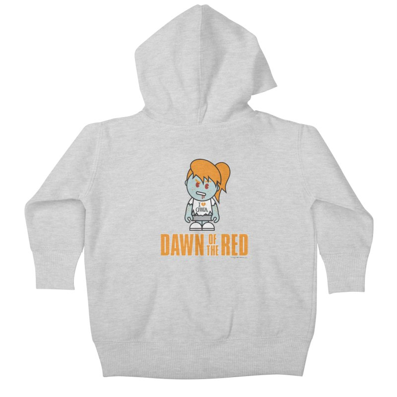 Dawn of The Red Kids Baby Zip-Up Hoody by Ginger With Attitude's Artist Shop