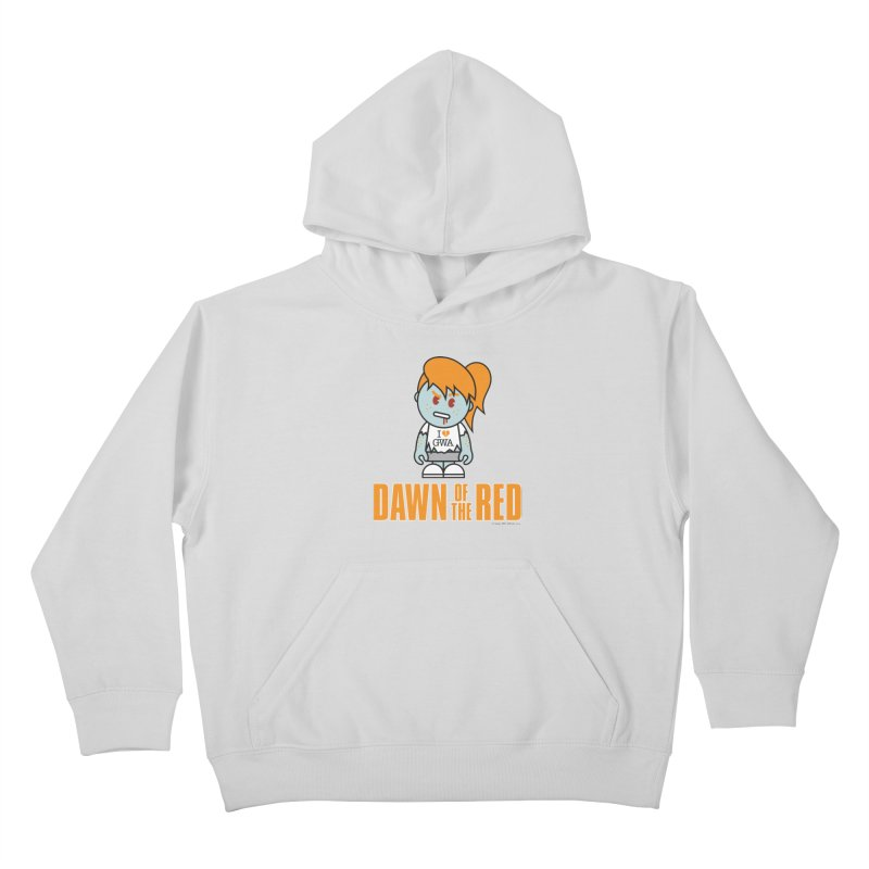 Dawn of The Red Kids Pullover Hoody by Ginger With Attitude's Artist Shop