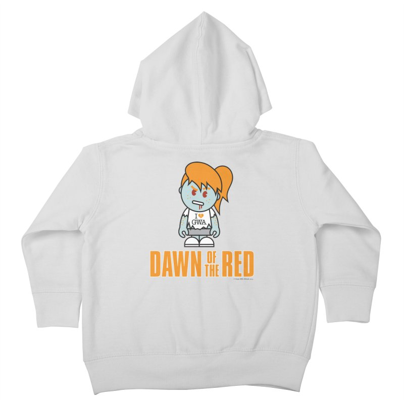 Dawn of The Red Kids Toddler Zip-Up Hoody by Ginger With Attitude's Artist Shop
