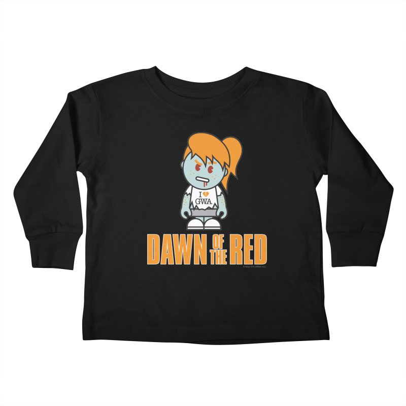 Dawn of The Red Kids Toddler Longsleeve T-Shirt by Ginger With Attitude's Artist Shop