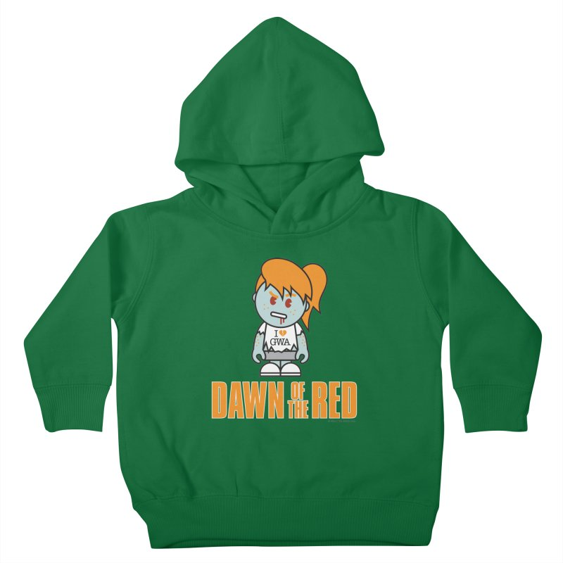 Dawn of The Red Kids Toddler Pullover Hoody by Ginger With Attitude's Artist Shop