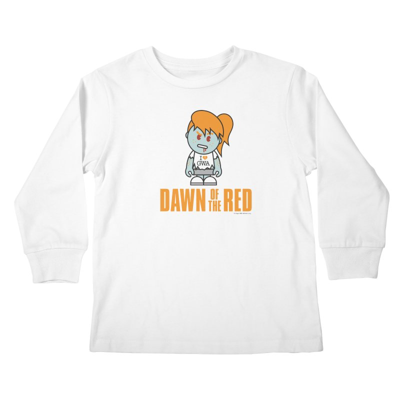 Dawn of The Red Kids Longsleeve T-Shirt by Ginger With Attitude's Artist Shop