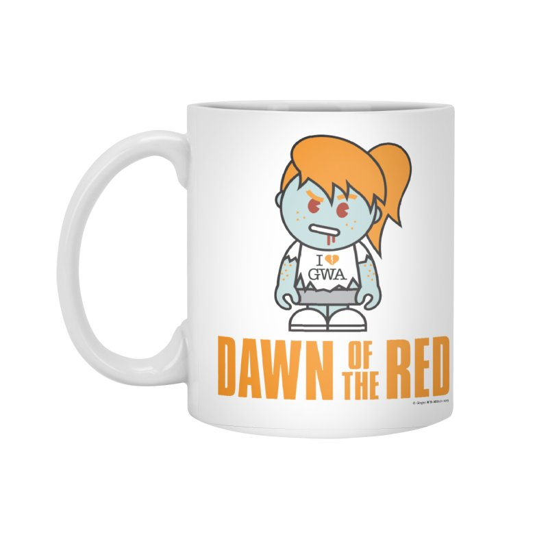 Dawn of The Red Accessories Standard Mug by Ginger With Attitude's Artist Shop