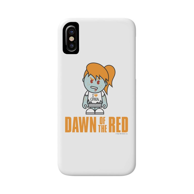 Dawn of The Red Accessories Phone Case by Ginger With Attitude's Artist Shop