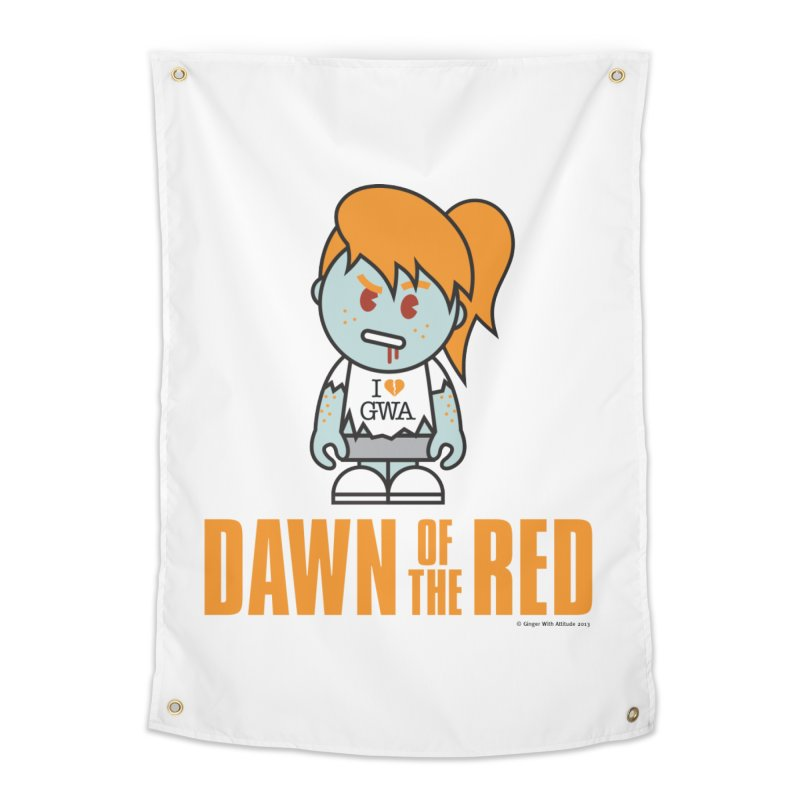 Dawn of The Red Home Tapestry by Ginger With Attitude's Artist Shop