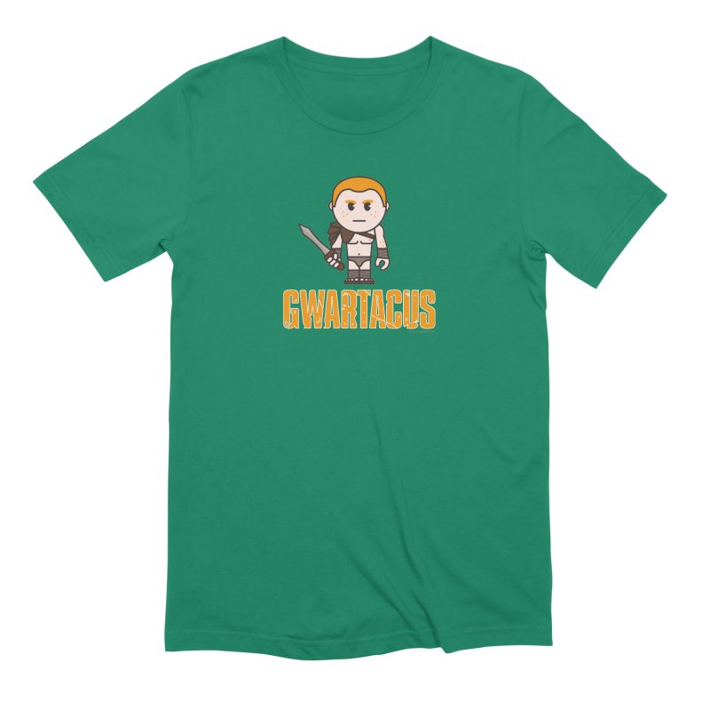 Gwartacus Men's Extra Soft T-Shirt by Ginger With Attitude's Artist Shop