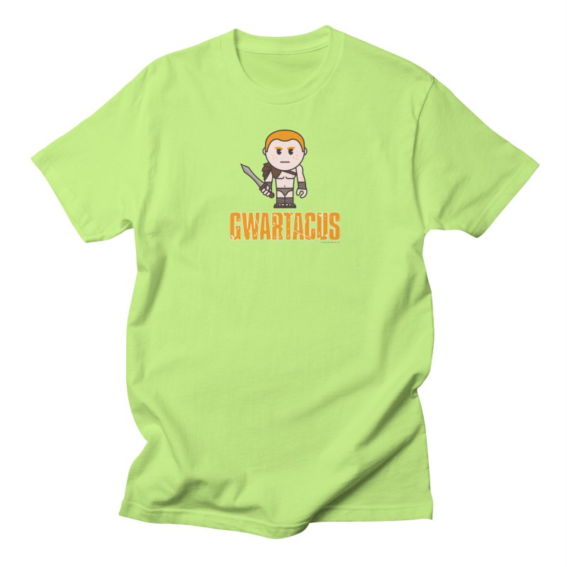 Gwartacus Men's Regular T-Shirt by Ginger With Attitude's Artist Shop