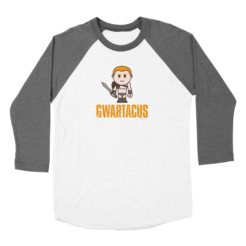 Gwartacus Men's Baseball Triblend T-Shirt by Ginger With Attitude's Artist Shop