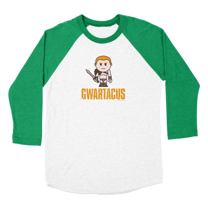 Gwartacus Men's Baseball Triblend Longsleeve T-Shirt by Ginger With Attitude's Artist Shop