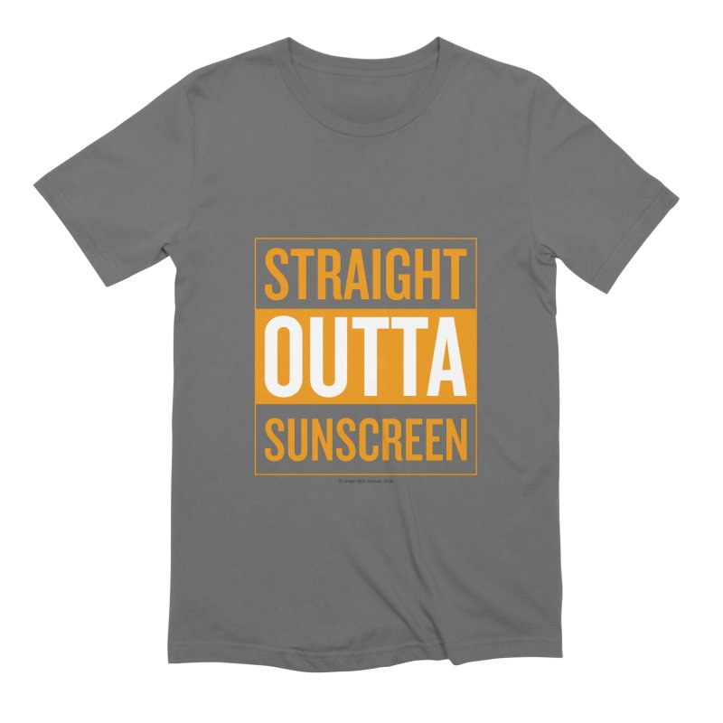 SunScreen Men's T-Shirt by Ginger With Attitude's Artist Shop