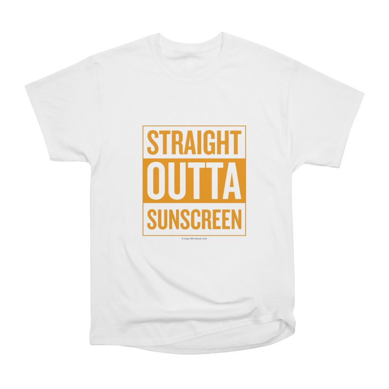 SunScreen Women's T-Shirt by Ginger With Attitude's Artist Shop