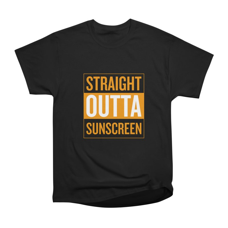SunScreen Women's Heavyweight Unisex T-Shirt by Ginger With Attitude's Artist Shop