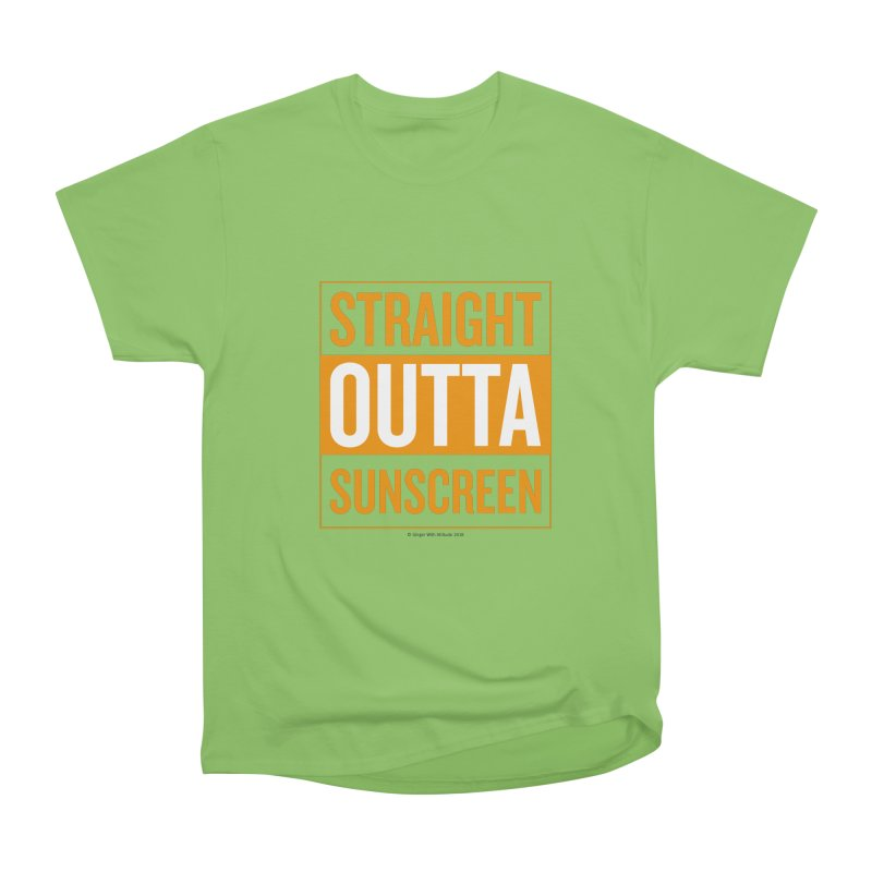 SunScreen Women's Heavyweight Unisex T-Shirt by Ginger With Attitude's Artist Shop
