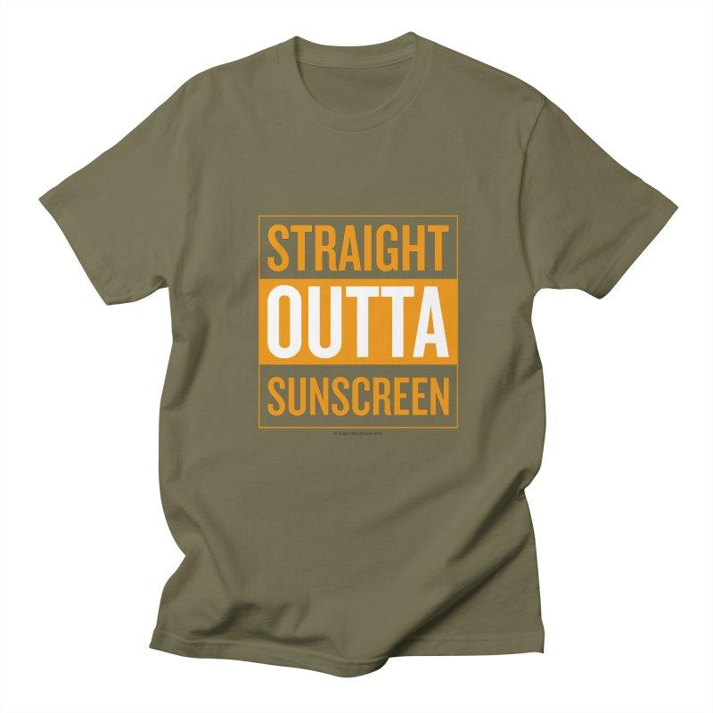 SunScreen Men's Regular T-Shirt by Ginger With Attitude's Artist Shop
