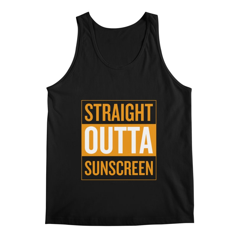 SunScreen Men's Regular Tank by Ginger With Attitude's Artist Shop