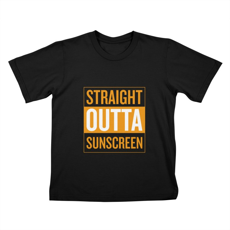 SunScreen Kids T-Shirt by Ginger With Attitude's Artist Shop