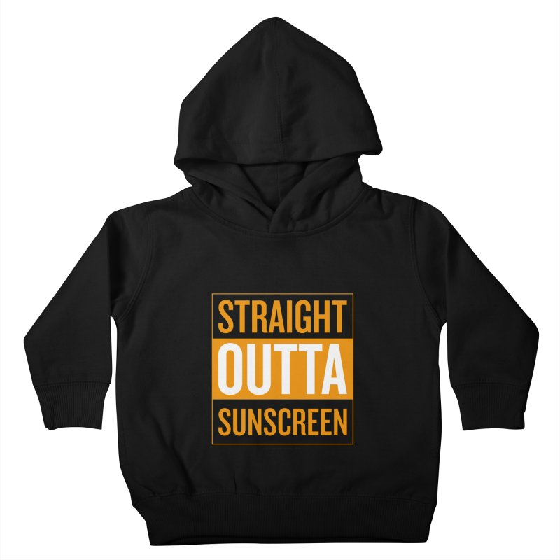 SunScreen Kids Toddler Pullover Hoody by Ginger With Attitude's Artist Shop