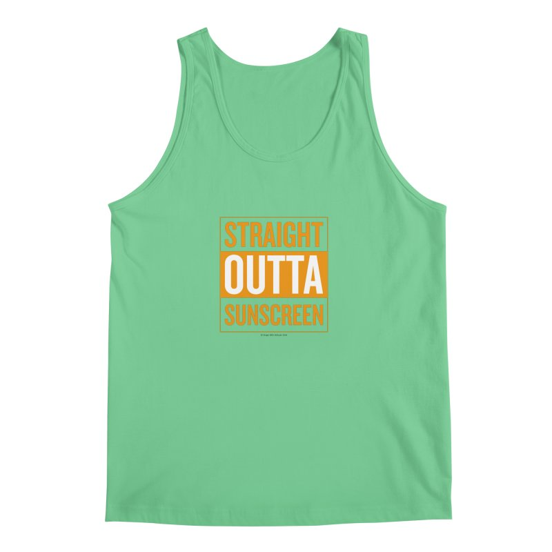 SunScreen Men's Tank by Ginger With Attitude's Artist Shop